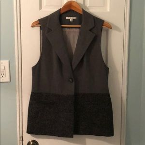 Cabi Two toned gray Vest